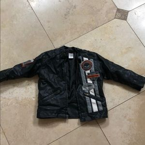 0fb68d30 Kids Harley Davidson Leather Jacket on Poshmark